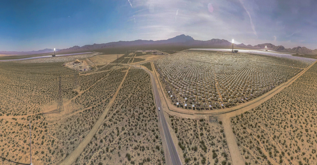 Ivanpah, The world's largest Solar Thermal Power Station